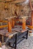 Chaises et tables Image libre de droits