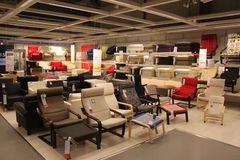 Chaises modernes Photographie stock