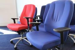 Chaises réglables de bureau Photos libres de droits