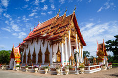 Chaitharam Temple, Wat Chalong, Phuket, Thailand. Chaitharam Temple or Wat Chalong is famous place in the Phuket, Thailand Royalty Free Stock Photos