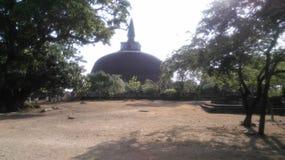 Chaithya Polonnaruwa Σρι Λάνκα Jethawanaramaya στοκ φωτογραφία