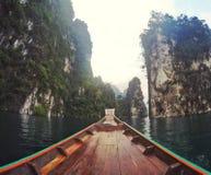 chaive larnfördämningsuratthani Thailand Arkivbild