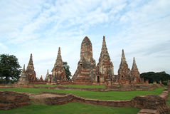 Chaiwattanaram di Wat Fotografia Stock Libera da Diritti