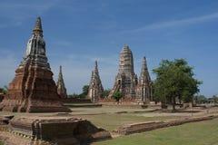 Chaiwattanaram tempel Royaltyfri Fotografi