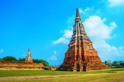 Chaiwattanaram tempel Arkivbilder