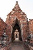 Chaiwattanaram temple. Arch of Chaiwattanaram temple World heritage Ayutthaya Thailand Royalty Free Stock Photos