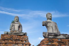 Chaiwattanaram temple. In Ayutthaya of Thailand Royalty Free Stock Photo