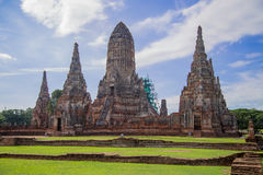 Chaiwattanaram temple. Is a buddhist temple in the city of Ayutthaya Historical Park,Thailand Stock Image