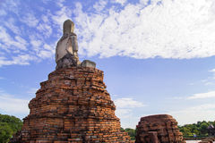 Chaiwattanaram temple. Is a buddhist temple in the city of Ayutthaya Historical Park,Thailand Stock Images