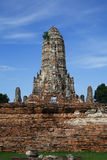 Chaiwattanaram temple. Is a buddhist temple in the city of Ayutthaya Historical Park,Thailand Royalty Free Stock Photo