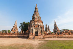 Chaiwattanaram temple. World heritage Ayutthaya Thailand Royalty Free Stock Photos
