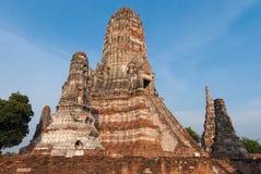 Chaiwattanaram temple Stock Image