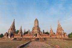 Chaiwattanaram temple. World heritage Ayutthaya Thailand Stock Image