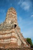 Chaiwattanaram temple Royalty Free Stock Images