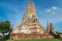 Chaiwattanaram temple. The world heritage ,Ayutthaya ,Thailand Stock Photos