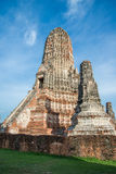 Chaiwattanaram temple. The world heritage ,Ayutthaya ,Thailand Stock Image