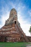 Chaiwattanaram temple Stock Photo