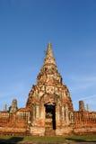 Chaiwatthanaram Tempel Stockfotografie