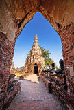Chaiwatthanaram-Tempel, alter Tempel von Ayuthaya, Thailand Lizenzfreie Stockfotografie
