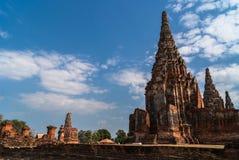 Chaiwatthanaram-Tempel in Ayutthaya, Thailand Stockfotografie