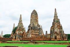 Chaiwatthanaram temple, Ayutthaya in thailand Stock Photos