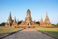 Chaiwatthanaram temple, Ayutthaya, Thailand Stock Photos
