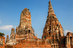 Chaiwatthanaram Temple in Ayutthaya,Thailand. Wat Chaiwatthanaram Temple in ancient former capital city Ayutthaya, Thailand Stock Images