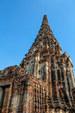 Chaiwatthanaram Temple in Ayutthaya,Thailand. Wat Chaiwatthanaram Temple in ancient former capital city Ayutthaya, Thailand Royalty Free Stock Photo