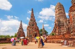 Free Chaiwatthanaram Temple In Thailand. Stock Photo - 116471950