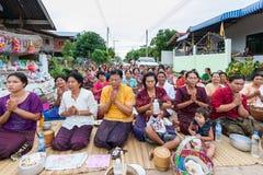 CHAIYAPHUM,泰国5月15日:未认出 免版税库存照片