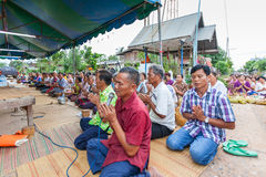 CHAIYAPHUM, TAILANDIA 15 de mayo: No identificado  Imagenes de archivo
