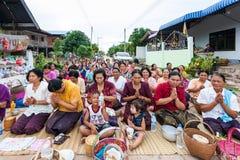 CHAIYAPHUM THAILAND Maj 15: Oidentifierat Royaltyfri Bild
