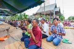 CHAIYAPHUM THAILAND Maj 15: Oidentifierat  Arkivbilder
