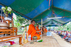 CHAIYAPHUM, THAILAND 15 Mei: Niet geïdentificeerde Thai Royalty-vrije Stock Foto