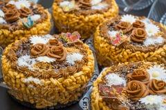 Chak-Chak -鞑靼人的传统美味 免版税库存图片