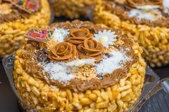 Chak-Chak - tatarische traditionelle Köstlichkeit Lizenzfreie Stockfotografie