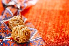 Chak-chak traditional asian sweet dessert Royalty Free Stock Photography