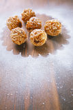 Chak-chak traditional asian sweet dessert Royalty Free Stock Images