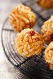 Chak-chak traditional asian sweet dessert Stock Photo