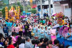 Chak Phra Festival imagens de stock