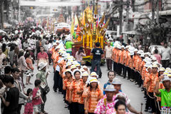Chak Phra Festival imagens de stock royalty free