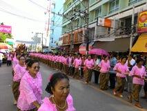 Chak Pra Festival Suratthani Thailand royalty-vrije stock foto