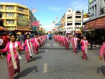 Chak Pra Festival Suratthani Thailand royalty-vrije stock fotografie