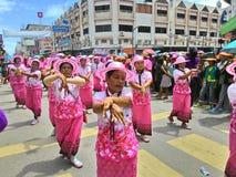 Chak Pra Festival Suratthani Thailand stock foto