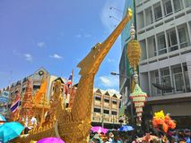 Chak Pra Festival Suratthani Thailand royalty-vrije stock afbeeldingen