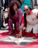Chaka Kahn,Stevie Wonder Royalty Free Stock Image