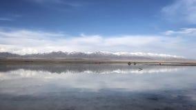 Chaka Salt Lake royalty-vrije stock foto's