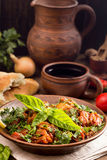 Chakhokhbili Chicken stewed with tomatoes and herbs Royalty Free Stock Photography