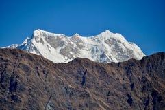 Chakhumba Mountain. The chakhumba parvat as seen from Tunganath Stock Photo
