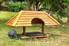 Chakore bird shelter Royalty Free Stock Image